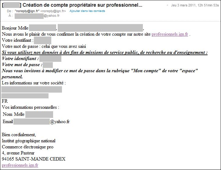 Accès au référentiel français de l'information ...